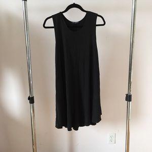 Brandy Melville Raw Hem T-Shirt Dress